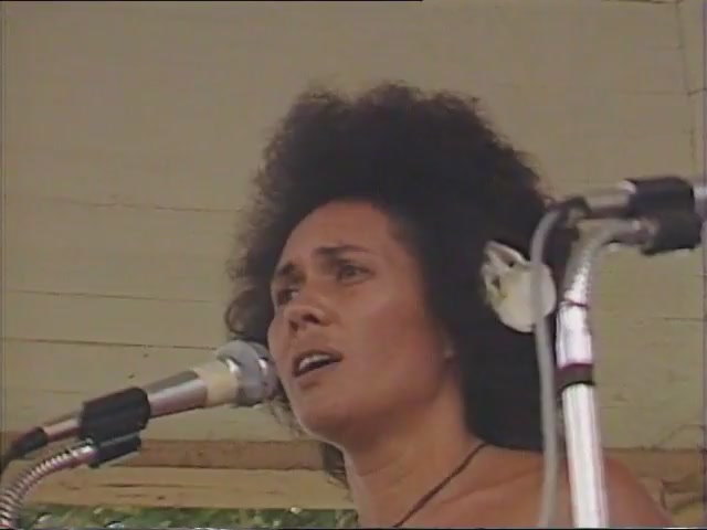 Moanikeala Akaka: remarks, Tribute to George Helm and Kimo Mitchell, March 1982