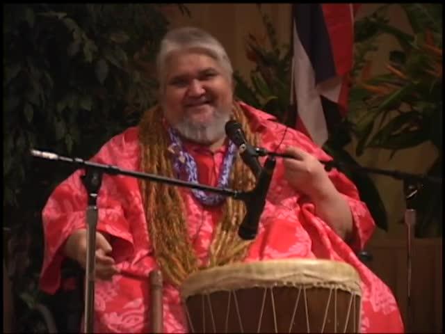 Kumu John Kaʻimikaua hula workshop at the Association of Hawaiian Civic Clubs 43rd Annual Convention, Las Vegas 11/15/02 part 2