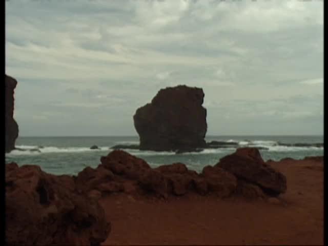 B-roll shots of Lānaʻi