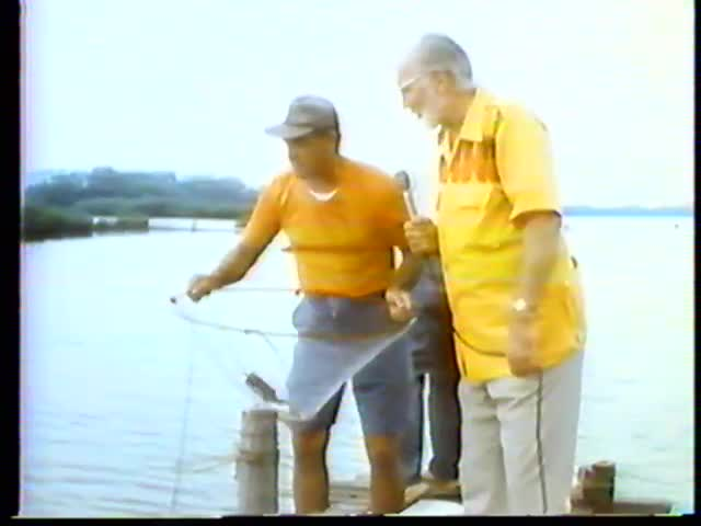 Pau Hana Years : Crabbing and Fishing in Pearl Harbor's West Loch 6/10/75