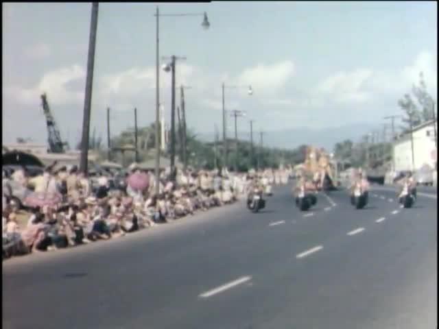First Two Aloha Week Celebrations 1947, 1948