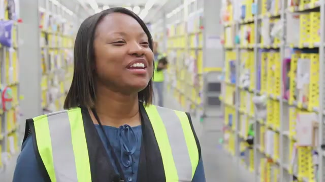 Lydia Flanders, Fulfillment Center Associate, Pick Process Assistant
