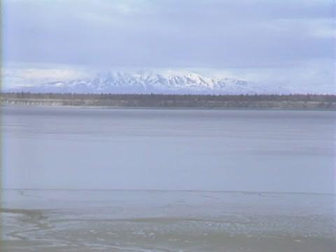 B-roll shots of Alaska
