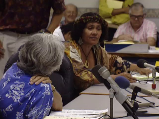 Senate Public Hearing on the H-3 and the Hālawa Valley heiau; 4/10/92 tape 4