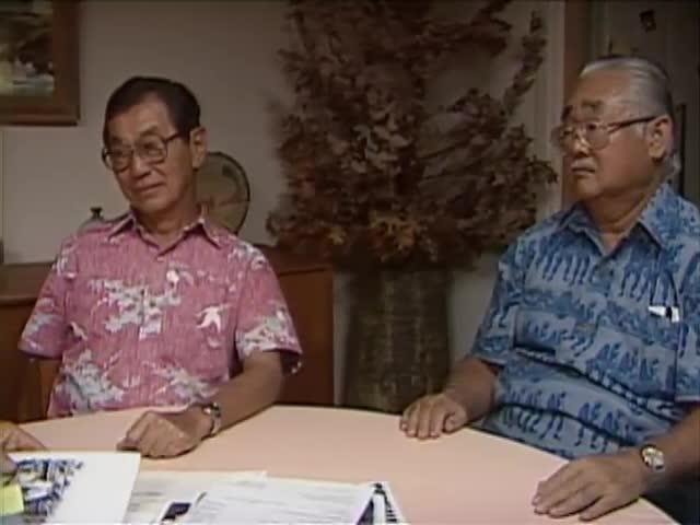 Interview with Ralph Toyota, Ted Tsukiyama, and Ralph Yempuku tape 3 3/8/88