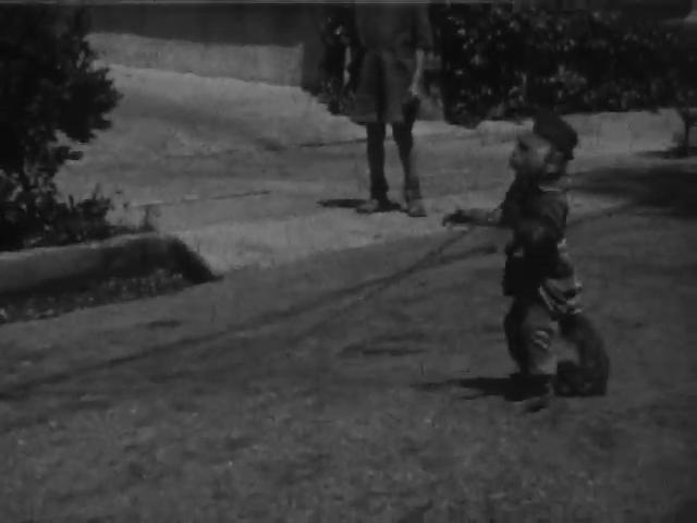 Monkey on a Leash, July 8 1930