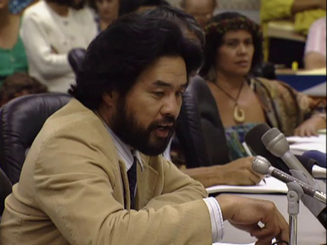 Senate Public Hearing on the H-3 and the Hālawa Valley heiau; 4/10/92 tape 2