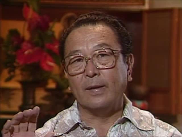 Interview with Bishop Yoshiaki Fujitani tape 3 3/4/88