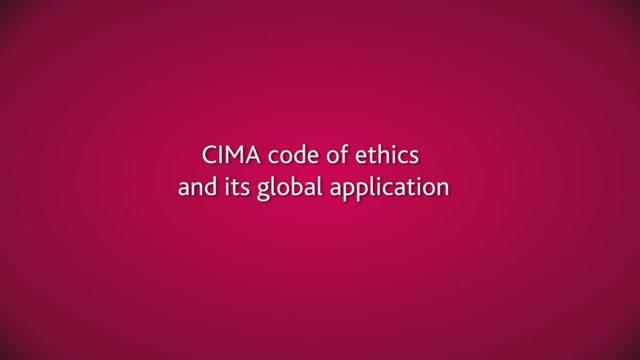 cima code of ethics