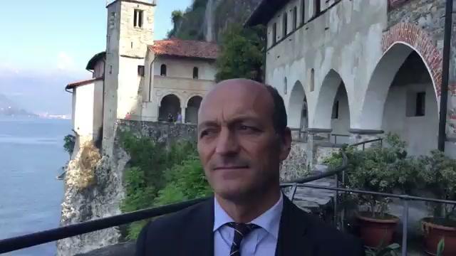 Il presidente Vincenzi in visita a Santa Caterina