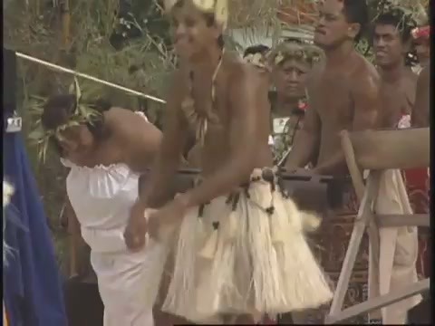 Cook Islands traditional dance