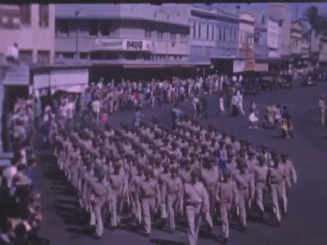 Hawaii Rifles Parade and Review