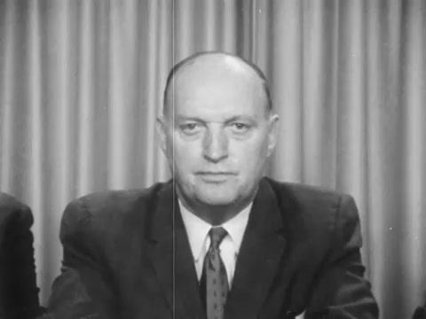 TV Spot announcing chairmanship speaker's bureau February 24, 1964