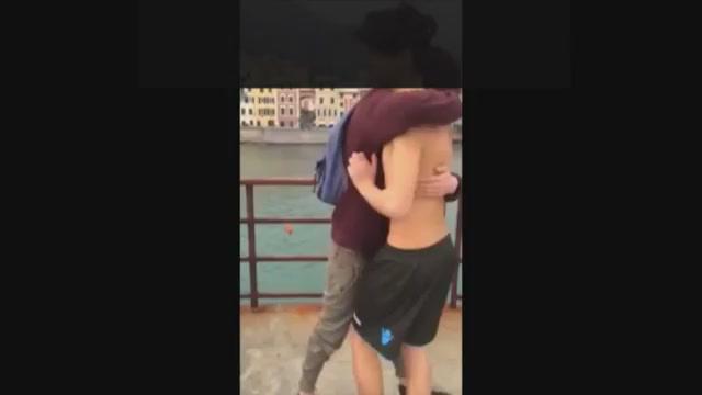 Nervi, il video del ragazzo caduto dal molo per una prova da postare sui social