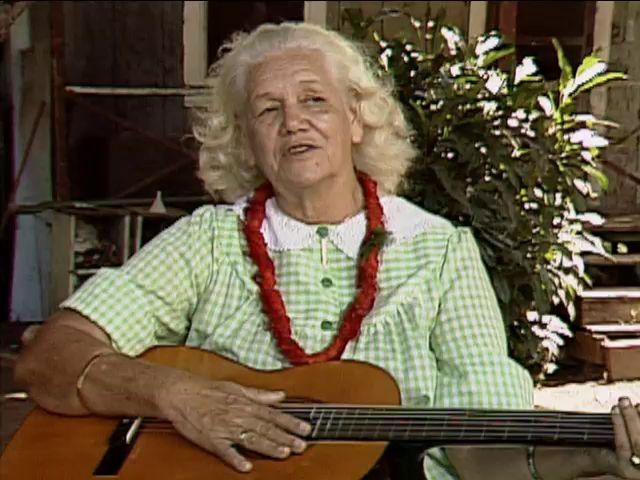 B-roll footage of Maui, Molokaʻi, and Lānaʻi and interview with Anna Goodhue 1989