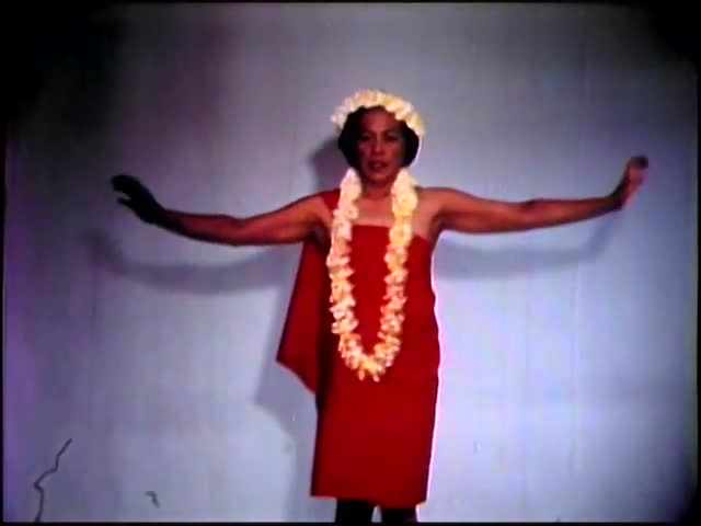 A Film for the Teaching of the Hawaiian Hula : Ula No Weo