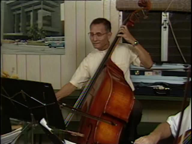 Pacific Quintet rehearsal #1 5/21/87