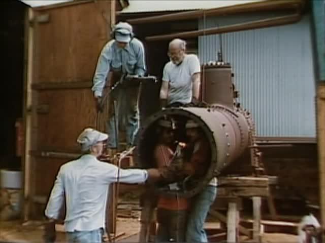 Grove Farm train restoration photos tape 1