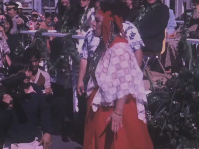 Ceremony for centennial of Laying of cornerstone at ʻIolani Palace December 31, 1979