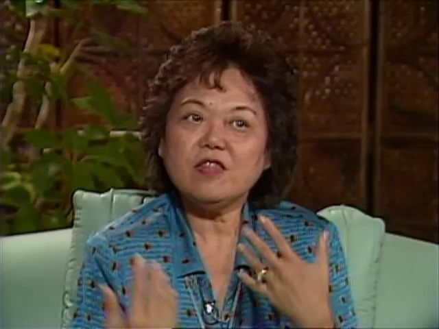 Interview with Patsy Mink tape 2 7/15/86