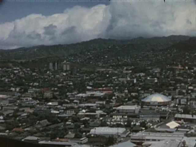Various shots of Honolulu; filmed April 2-9, 1966