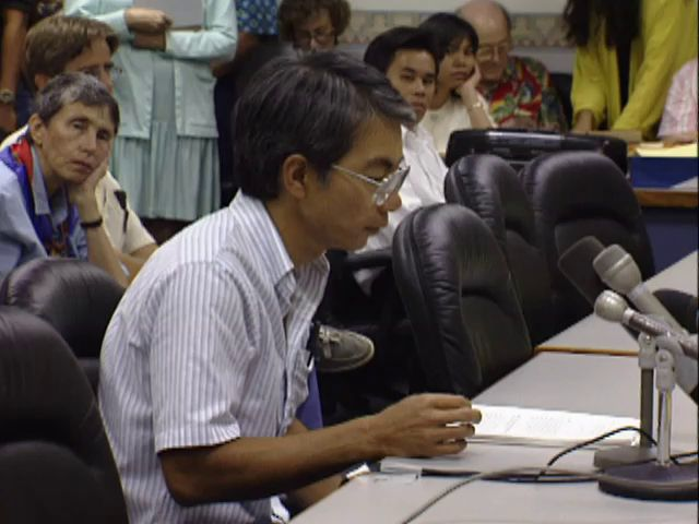 Senate Public Hearing on the H-3 and the Hālawa Valley heiau; 4/10/92 tape 1