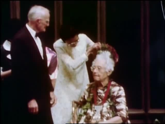 Mary Kawena Pukui Governor's Awards Ceremony by KHET TV (1974)