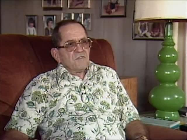 Interview with Joe Rocha tape 1 8/86