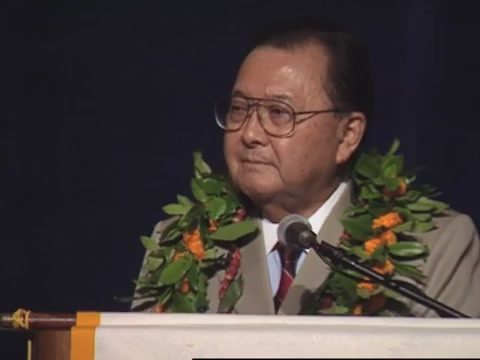 Daniel K. Inouye speech to The Chamber of Commerce of Hawaiʻi, May 23, 1998
