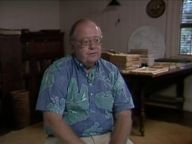 Alberto Daguay and Grove Farm houses; Interview with Barnes Riznik tape 1