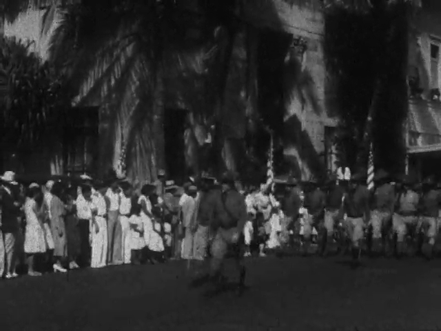 Parade in Hilo Town