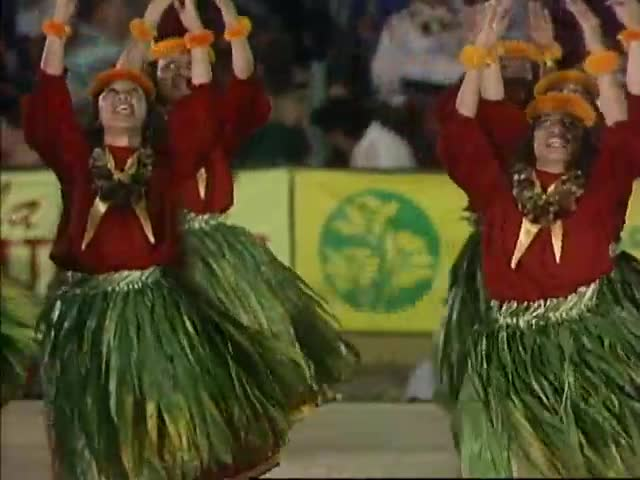 27th Merrie Monarch Festival Hula ʻAuana Highlights 1990