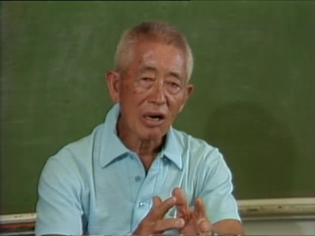 Interview with Coach Soichi Sakamoto; classroom tape 2 8/83