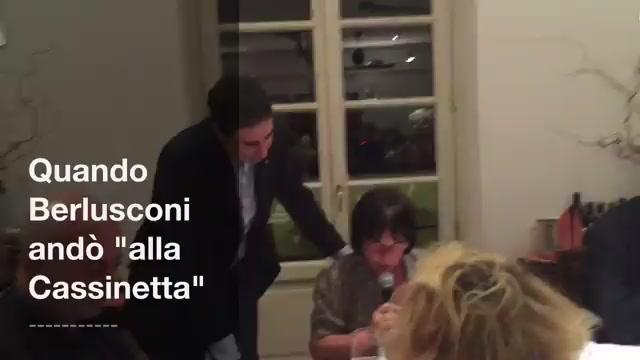"""Quando Berlusconi andò  """"Alla Cassinetta"""""""