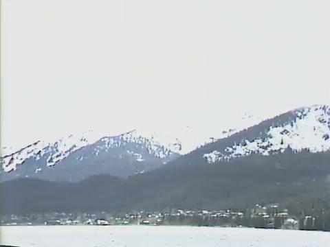 B-Roll footage of Juneau Alaska