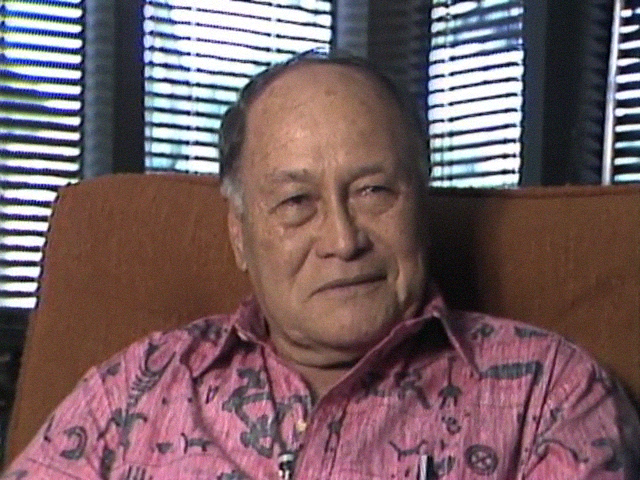 Interview with Thomas Kaulukukui, Sr.