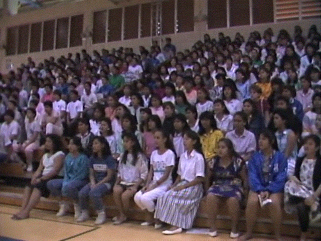Kamehameha Schools Song Contest Practice