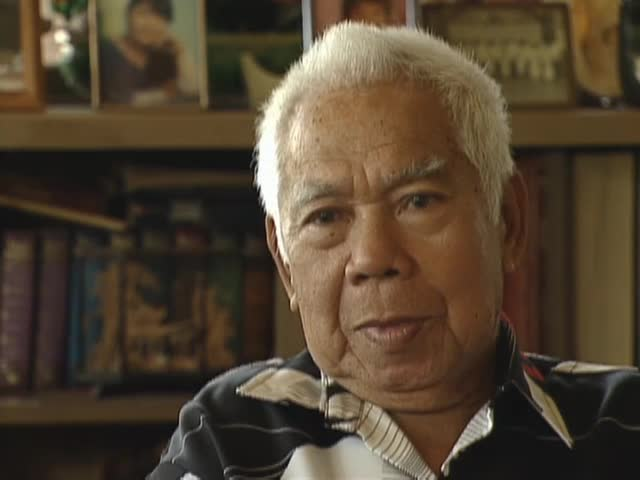 Interview with Prudencio Renti Cruz and b-roll of Kekaha sugar mill 5/29/96
