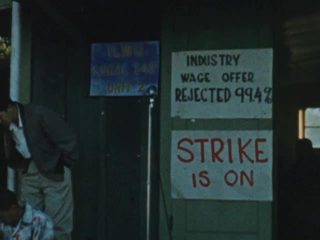 Sugar strike of 1958, Hawaiʻi Island
