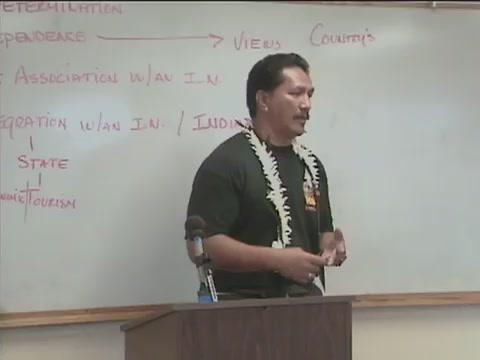 Bumpy Kanahele at University of Hawaiʻi West Oʻahu