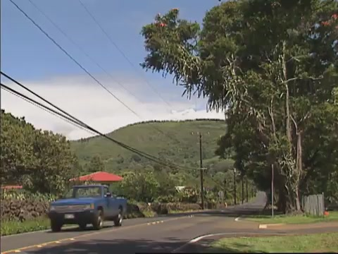 Traffic in Naʻalehu