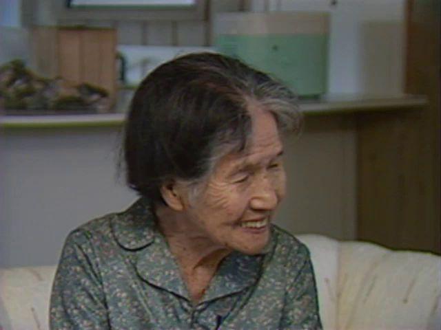 Interview with Shizu Kaigo explaining photos and wedding items 6/17/87