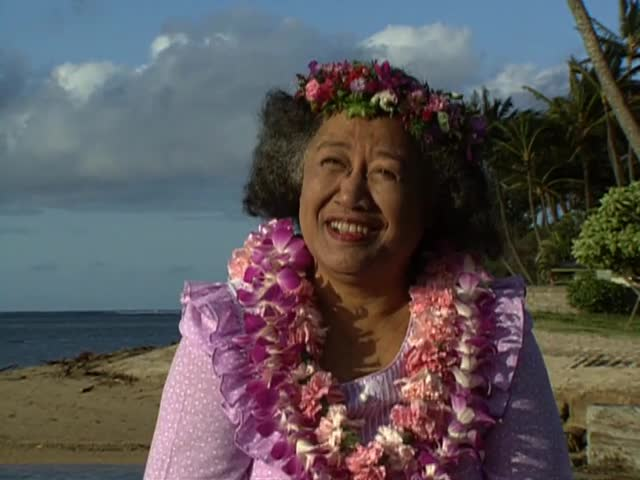 "Interview with Hawaiian Language Professor Rubellite ""Ruby"" Johnson tape 1"