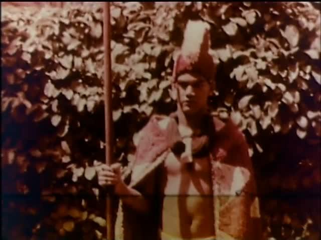 Hawaiian Feather Cloaks in Bishop Museum, 1937