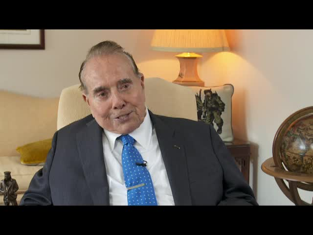 "Interview with Senator Robert J. ""Bob"" Dole"
