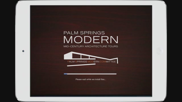 Palm Springs Modern Mid Century Architecture Tour App