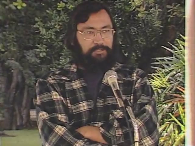Ian Lind: remarks, Tribute to George Helm and Kimo Mitchell, March 1982