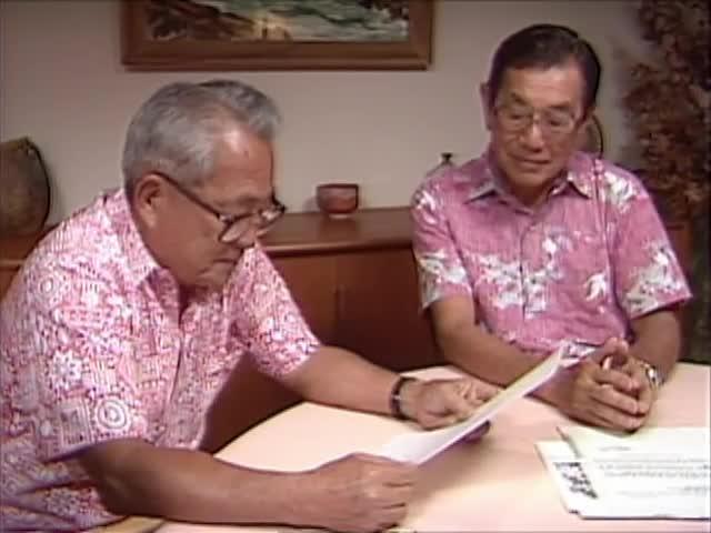 Interview with Ralph Toyota, Ted Tsukiyama, and Ralph Yempuku tape 2 3/8/88