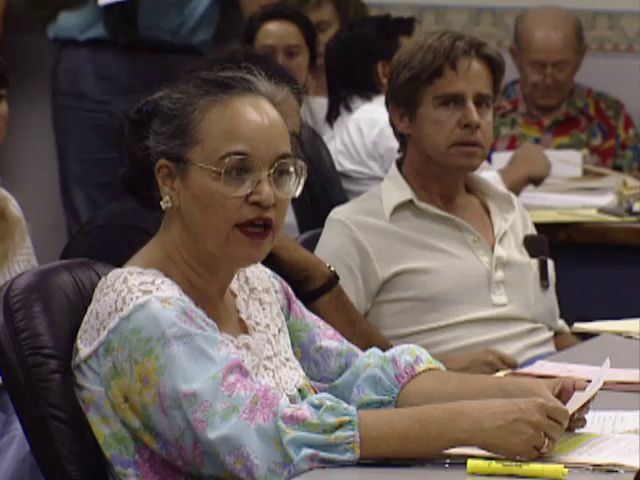Senate Public Hearing on the H-3 and the Hālawa Valley heiau; 4/10/92 tape 6