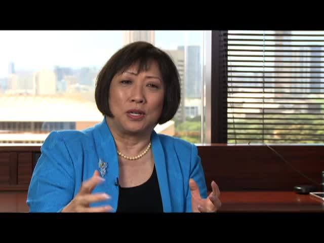 Interview with Congresswoman Colleen Hanabusa